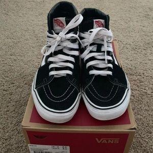 Vans Sk8-Hi shoes hi top W8